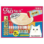 いなば CIAO(チャオ) ちゅ〜る 40本 まぐろ・かつおバラエティ 14g×40本 関東当日便