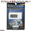 ゆうパケット対応 テトラ デジタル水温計 ホワイト WD-1 同梱・代引き・着日指定不可