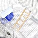 ゆうパケット対応 スドー 木製5段ハシゴ ハムスター 鳥 おもちゃ はしご 同梱・代引き・着日指定不可