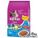 カルカン ドライ 肥満が気になる猫用 毛玉ケア まぐろと野菜味 1.6kg (小分けパック4袋入)