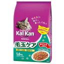 カルカン ドライ 毛玉ケア かつおとチキン味 1.6kg (小分けパック4袋入)3袋【HLS_DU】 関東当日便