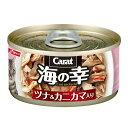 お買得セット キャラット 海の幸 ツナ&カニカマ入り 80g キャットフード 2缶入 関東当日便