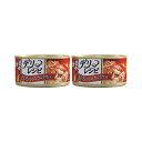 お買得セット ミオ デリレシピ まぐろとささみ カニカマ入り 80g キャットフード 2缶 関東当日便