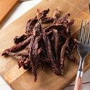 国産 牛もも肉のジャーキー 細切り 50g 無添加 無着色 PackunxCOCOA 関東当日便