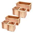 新 りんご箱+木箱 6点セット 無塗装 送料無料 ガーデニング DIY素材 お一人様1点限り 同梱不可 関東当日便