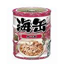 アイシア 海缶ミニ3P かつお 60g×3缶パック キャットフード 関東当日便