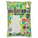 猫砂 お一人様12点限り クリーンミュウ ミュウサンド 消臭を極めた紙製の砂 6L 関東当日便