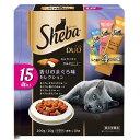 シーバデュオ 15歳以上 香りのまぐろ味セレクション 200g(20g×10袋) 2個入り 関東当日便