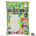 猫砂 お一人様1点限り クリーンミュウ ミュウサンド 消臭を極めた紙製の砂 6L 7袋入り【HLS_DU】 関東当日便