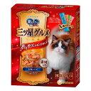 ユニチャーム 銀のスプーン 三ツ星グルメ 全猫用 お魚レシピに贅沢素材 4種のアソート 200g(20g×10袋)5個入り 関東当日便