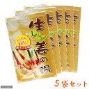 和漢浴湯 粉末タイプ 生姜の湯 5袋セット【関東当日便】