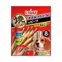 いなば やわらかねじ〜 ささみガラスープ味&ビーフ 8本 犬 おやつ 関東当日便