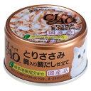 箱売り いなば CIAO(チャオ)とりささみ 鯛入り 鯛だし仕立て 85g お買得24缶 関東当日便