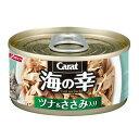 箱売り キャラット 海の幸 ツナ&ささみ入り 80g 1箱48缶入 キャットフード 関東当日便