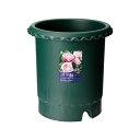 お買得セット リッチェル バラ鉢 ダークグリーン 10号 φ30×30cm お買い得5個入 関東当日便