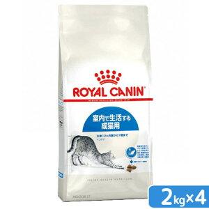 ロイヤルカナン 猫 インドア 成猫用 2kg×4袋 31825