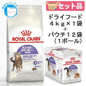 ロイヤルカナン 猫 適正体重を維持したい成猫セット