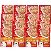 いなば CIAO Juicy まぐろ ささみ入り 60g 16袋入り 関東当日便