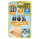 箱売り アイシア 11歳からの健康缶パウチ まぐろムース 40g 1箱48個 関東当日便