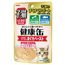 箱売り アイシア 子猫のための健康缶パウチ まぐろペースト 40g お買い得48個 関東当日便