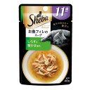 お買得セット シーバ アミューズ 11歳以上 お魚フィレにふっくらしらすと蟹かま添え 魚介の彩りスープ 40g 6個入 関東当日便