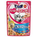 お買得セット 銀のスプーン ハッピークランチ 低カロリー シーフード 30g 猫 おやつ 3袋入 関東当日便