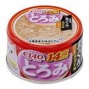 いなば CIAO(チャオ) とろみ 14歳からのささみ・まぐろ ホタテ味 80g 3缶入 関東当日便