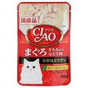 お買得セット いなば CIAO(チャオ) まぐろ ささみ入り ほたて味 40g キャットフード CIAO(チャオ) 国産 6袋 関東当日便