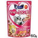 銀のスプーン ハッピークランチ! シーフード&チキン 60g キャットフード おやつ 国産 関東当日便