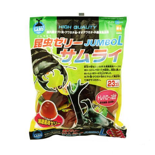 マルカン 昆虫ゼリー サムライ ジャンボL (23個入) 昆虫ゼリー カブトムシ クワガタ 関東当日便