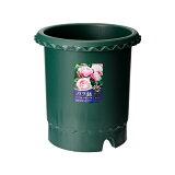 気品の「バラ」をより美しく上品に魅せる・・・バラ鉢 ダークグリーン 10号 φ30×30cm【関東当日便可】