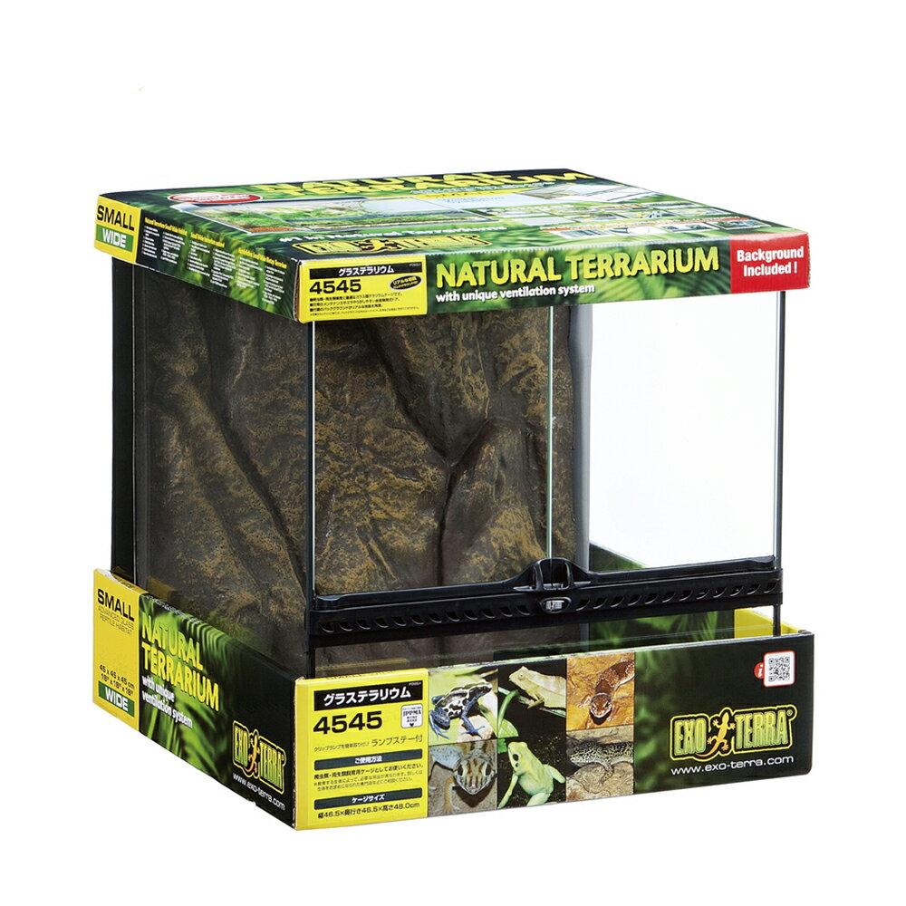 GEX エキゾテラ グラステラリウム 4545 爬虫類 飼育 ケージ ガラスケージ ジェックス 関東当日便