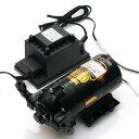 シャフロー社 ハイフロー加圧ポンプ 50GPD〜100GPD用 ACアダプター24V付 関東当日便