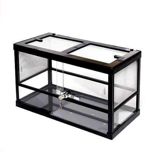 お一人様1点限り みどり商会 ケースバイケース60M 爬虫類 飼育 ケージ ガラスケージ 関東当日便