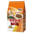 ペットライン キャネットチップ かつお味ミックス 2.7kg キャットフード 国産 関東当日便