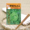 野菜の種 早生かんらん 品番:2233 家庭菜園 関東当日便