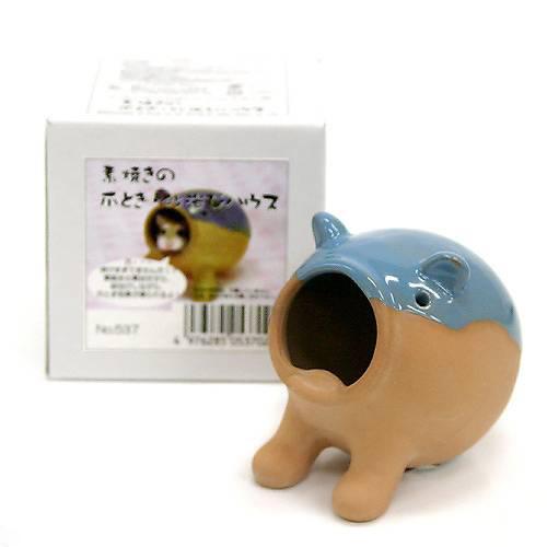 三晃商会 SANKO 素焼きの爪とぎ・砂浴びハウス ドワーフハムスター 小型ハムスター用 …...:chanet:10095532