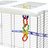 さわって楽しい小鳥のおもちゃ!パズルリング S 関東当日便