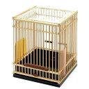 川井 KAWAI 竹カゴ ヒバリネカゴ 竹製(220×220×280) 鳥 ケージ 鳥かご 関東当日便