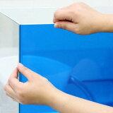 """耐光·耐热·耐水!难剥落!不褪色!background screen """"ARTI(aruti)60""""透明蓝色(65×50cm)【关东当日航班】[バックスクリーン ARTI(アルティ)60 クリアブルー(65×50cm) 関東当日便]"""