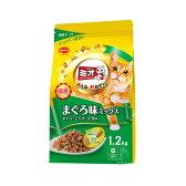 ミオ ドライミックス まぐろ・しらす・小魚味ミックス 1.2kg キャットフード ミオ 関東当日便