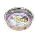 キャティーマン ステンレス食器 ごはんにゃわん 猫用 ピンク ドギーマン 関東当日便