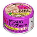 いなば CIAO(チャオ) ホワイティ かつお&しらす ほたて味 85g キャットフード CIAO チャオ 関東当日便