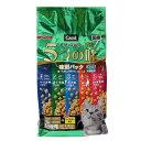 キャラット5つの味 海の幸 高齢猫用 1.2Kg キャットフード 関東当日便