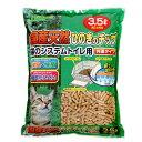 クリーンミュウ 木製 国産天然ひのきのチップ 3.5L 猫砂 ひのき 燃やせる 関東当日便