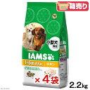 箱売り アイムス 小型犬用 成犬用 チキン 2.2kg お買得4袋 正規品 ドッグフード IAMS 関東当日便