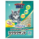 猫砂 お一人様4点限り ラクラクサンド 4L システムトイレ用 猫砂 天然ゼオライト 関東当日便