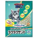 猫砂 ラクラクサンド 4L システムトイレ用 4袋 猫砂 天然ゼオライト お一人様1点限り 関東当日便