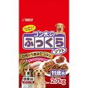 サンライズ ゴン太のふっくらソフト 11歳以上用 2.7kg(225g×12パック) ドッグフード 超高齢犬用 関東当日便