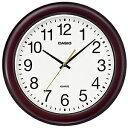 CASIO カシオ クロック IQ-132-5JF 掛時計 壁掛け スムーズ秒針 木枠